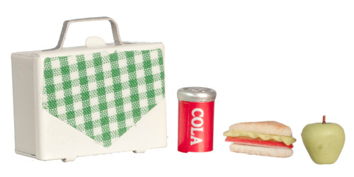 Lunch Box Sandwich with Apple