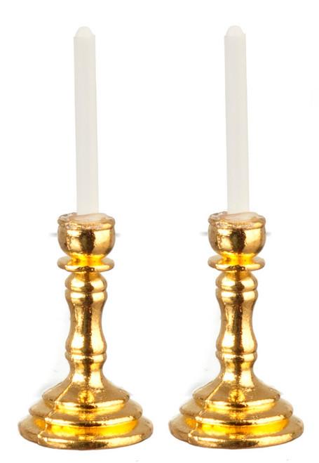 Brass Candlestick Set