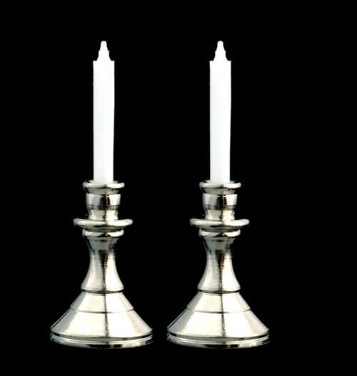 Candlestick Set - Silver