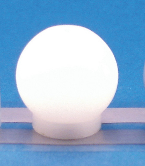 12 Volts Pin-In Ceiling Builb -Round and White
