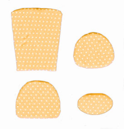 Cushion Kit and Yellow Mini Dots