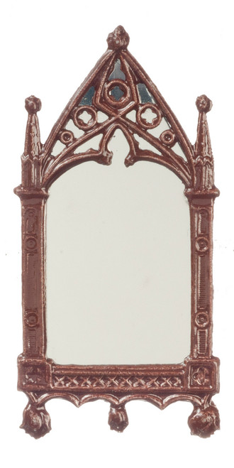 Cathedral Mirror - Brown