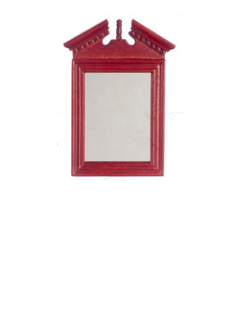 Old Fashioned Mirror - Mahogany