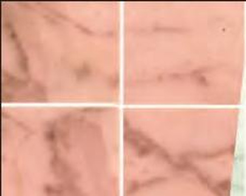 No Wax Marble Floor - Pink
