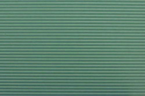 Tin Roof Panel - Green