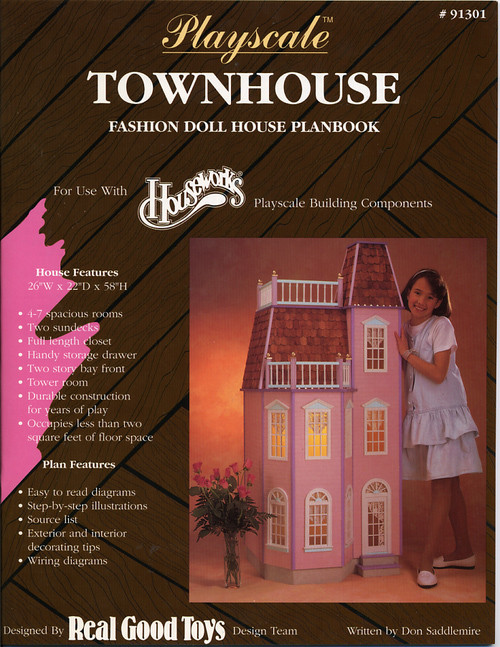 Playscale Townhouse - Victorian Planbook