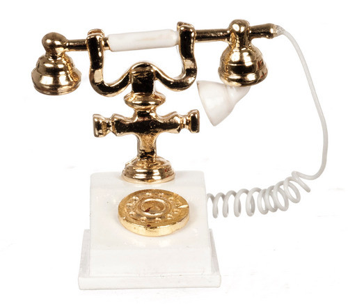 Classic Telephone - White