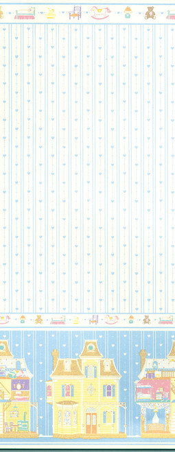 Wallpaper Dollhouse Fantasy Set - Blue