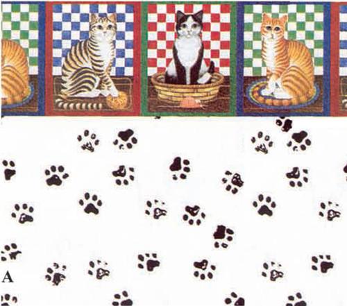 Wallpaper Cat's Meow Set
