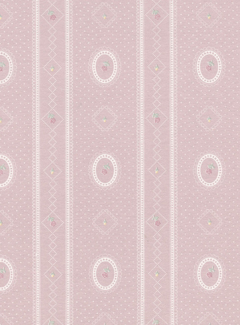 Wallpaper Cameo Stripe Reverse Set - Gray