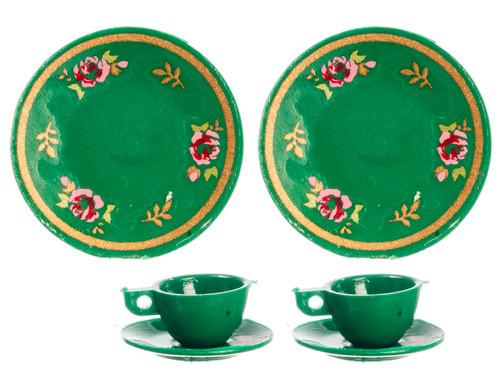 Dinnerware Set - Green