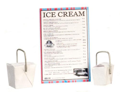 Ice Cream Take Out Set