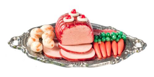 Ham Dinner on Tray