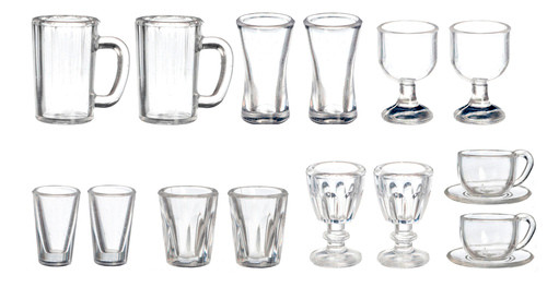 Kitchen and Dining Set Glasses