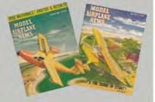 1950's Model Airplane Magazines Set
