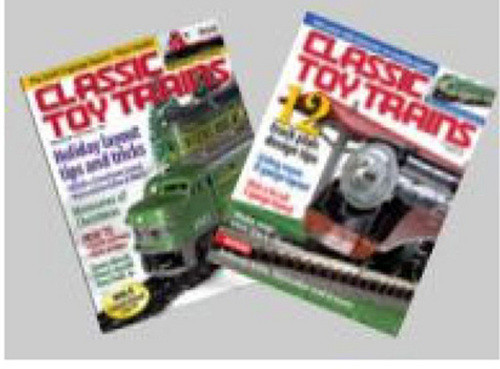 Classic Toy Trains Magazines Set