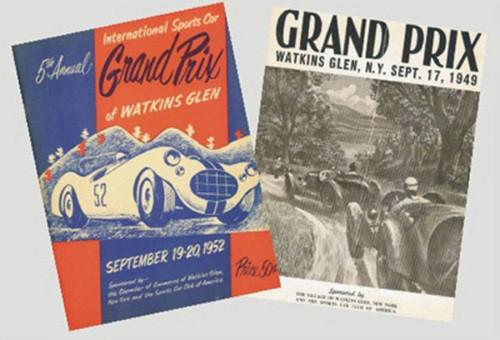 1950's Grand Prix Magazines Set