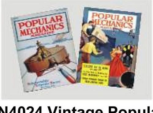 Vinatage Popular Mechanics Magazines Set