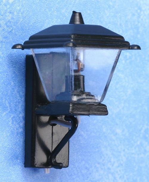 Black Coach Lamp