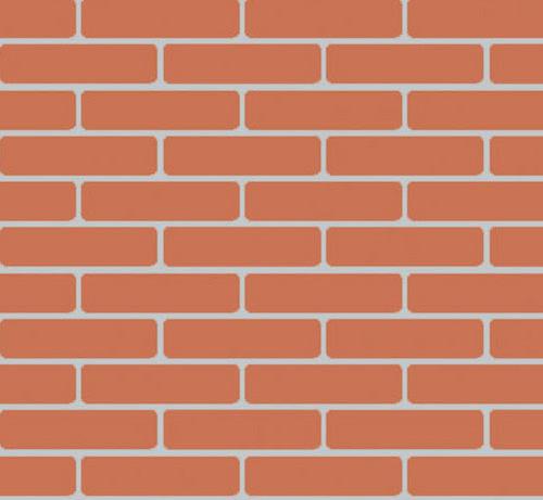 Brick Panel - Red