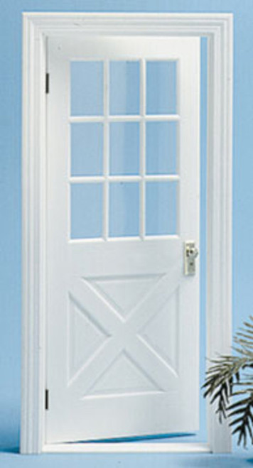 Colonial Crossbuck Door