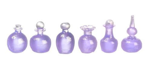 Dollhouse City - Dollhouse Miniatures Assorted Bottles Set - Purple
