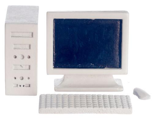 Computer Set - White