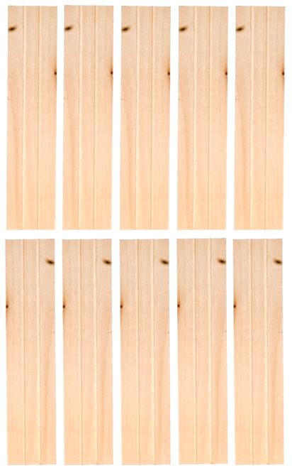 Dollhouse City - Dollhouse Miniatures Economy Shutters - Pair