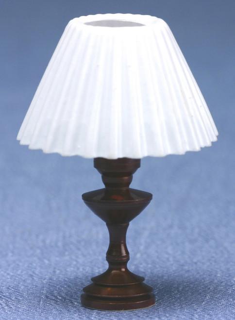 Table Lamp - White Pleat