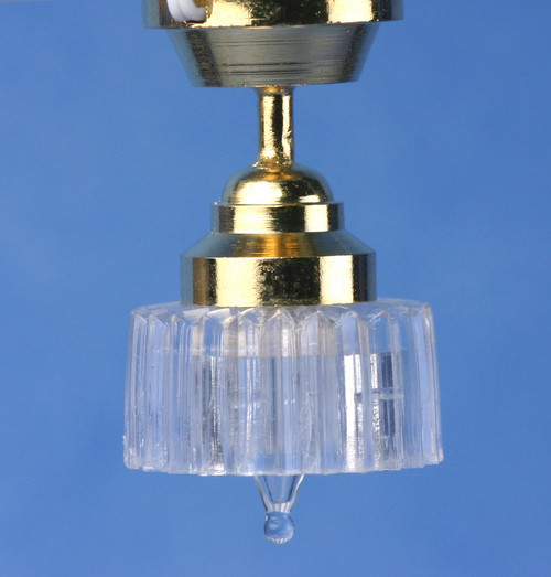 Ceiling Lamp and Scallop Shade