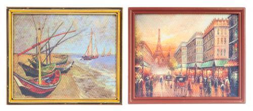 Van Gogh/Paris in Canvas