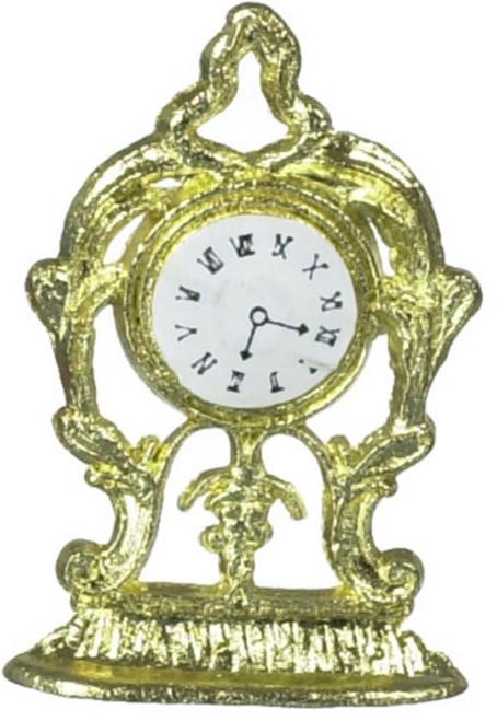 Mante Clock - Gold