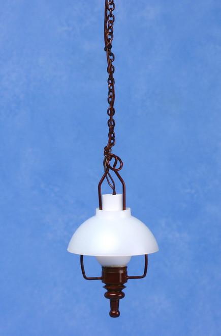 Swag Lamp - Dark Brown