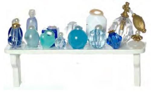 Cosmetics Long Shelf - Blue