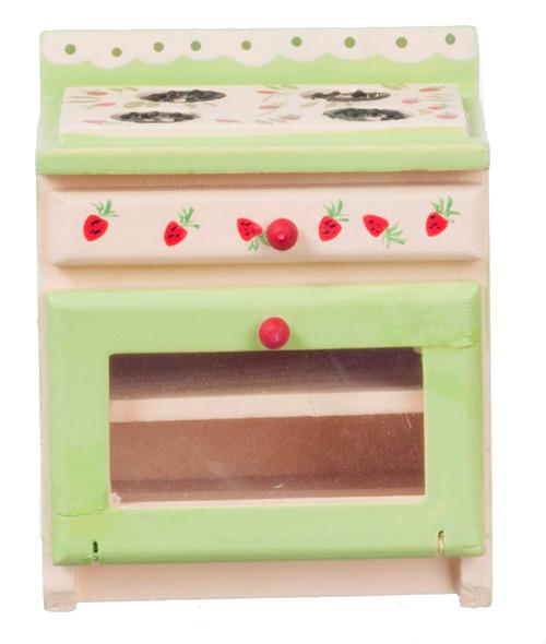 Dollhouse City - Dollhouse Miniatures Strawberry Stove