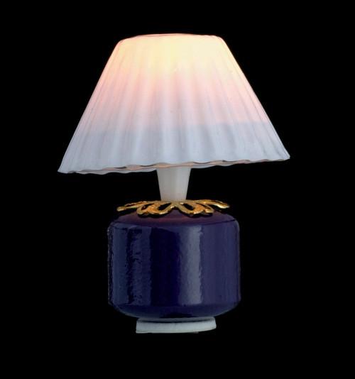 Purple Base Lamp