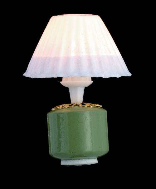 Green Base Lamp