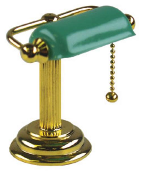 Banker's Desk Lamp - Green