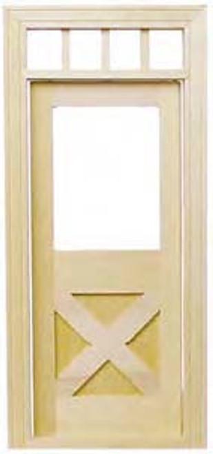 CrossBuck Door