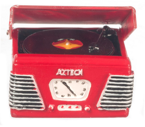 1950's Turntable - Red