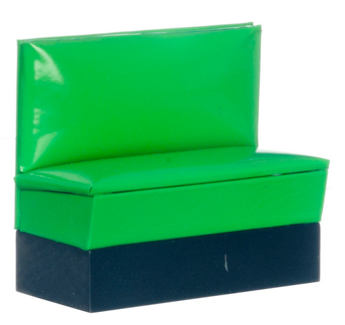 1950's Booth Bench - Green