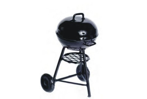Round Charcoal Grill - Small