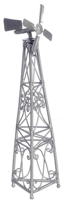 Dollhouse City - Dollhouse Miniatures Windmill on Stand - Iron
