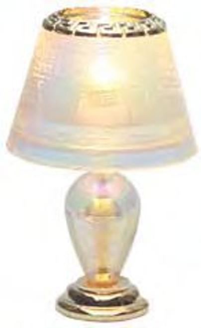 Irridescent Teardrop Lamp