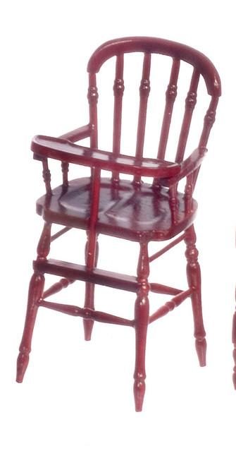 Victorian High Chair - Mahogany