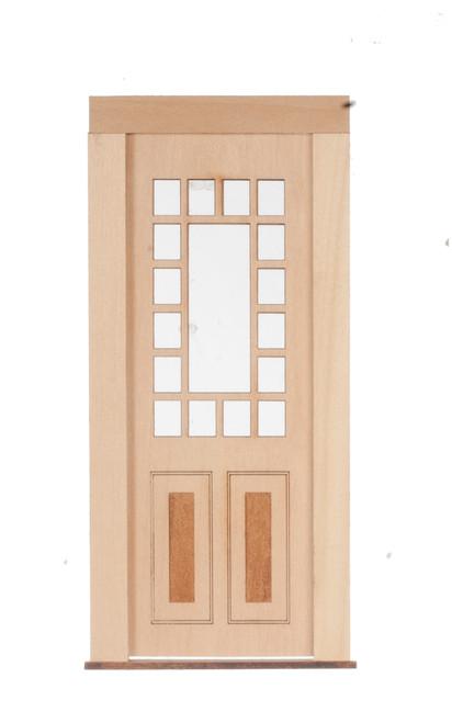 Dollhouse City - Dollhouse Miniatures 17 Light - 2 Raised Panel Door