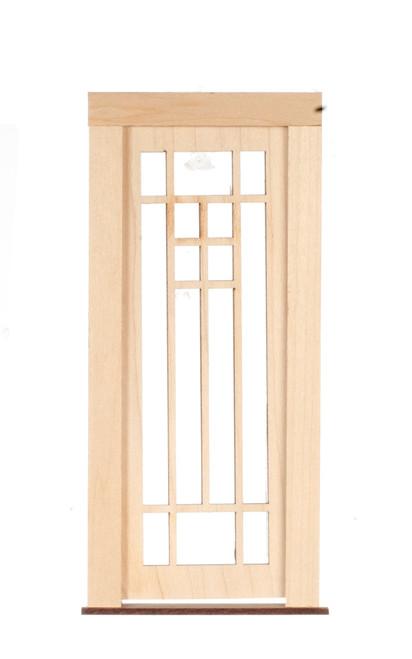 Dollhouse City - Dollhouse Miniatures 14 Light Panel Door