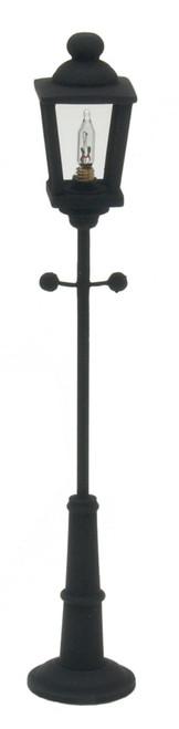 Black Yard Lamp