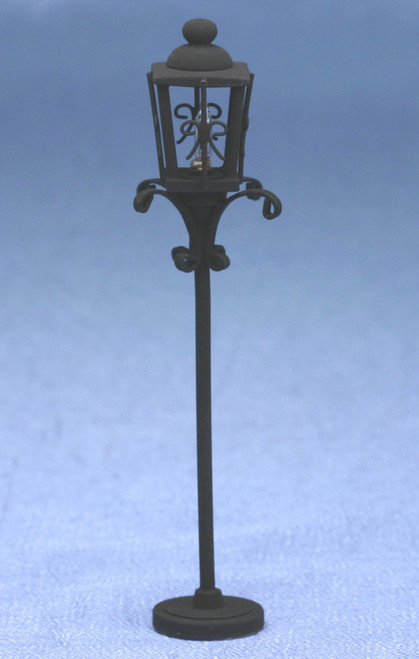 Ornate Iron Post Lamp