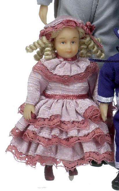 Anna Clark Victorian Girl